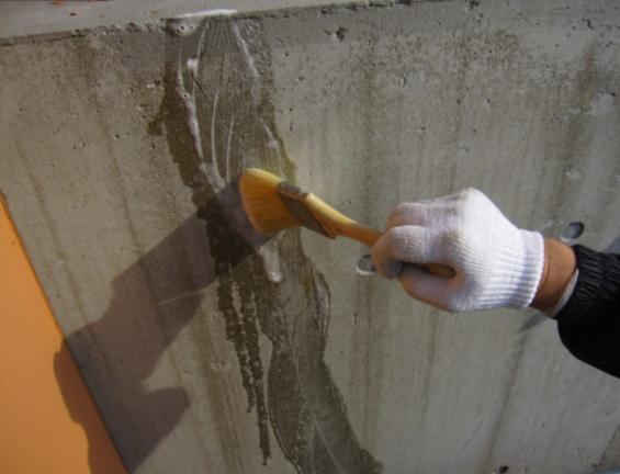 コンクリート打ちっぱなし補修・保護工事(sクリートクラック)14