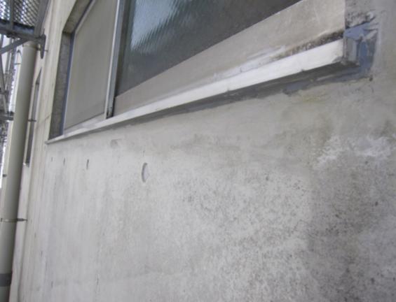 コンクリート打ちっぱなし補修・保護工事(sクリートクラック)8