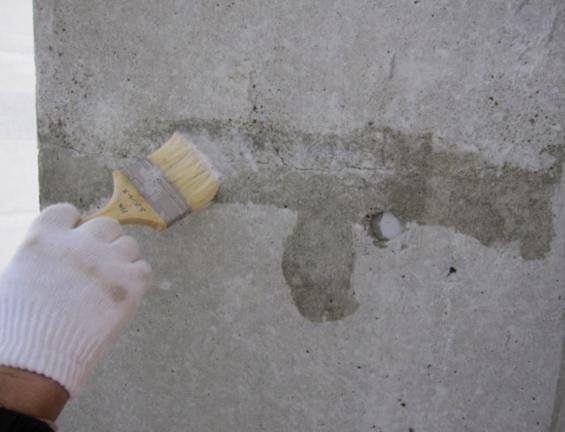 Sクリートアップを十分に塗布。