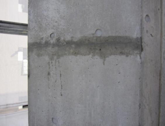 コンクリート打ちっぱなし補修・保護工事(sクリートクラック)13