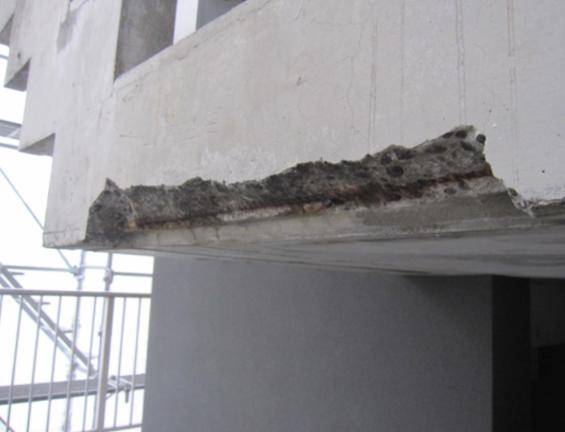 コンクリート打ちっぱなし補修・保護工事(sクリートクラック)3