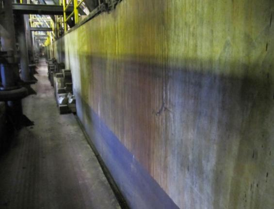 Sクリートアップのみで某工場地下ピットの漏水を止める1