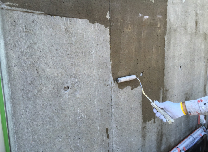 築12年コンクリートの再生保護05