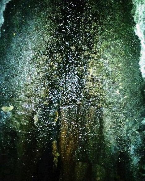 漏水箇所 拡大写真