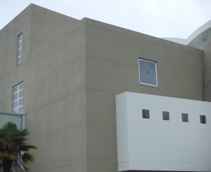 2.北面 外壁