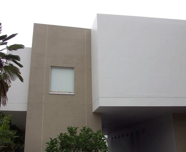 西面 外壁