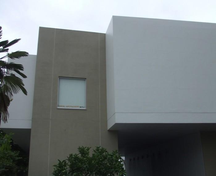 2-1.西面 外壁