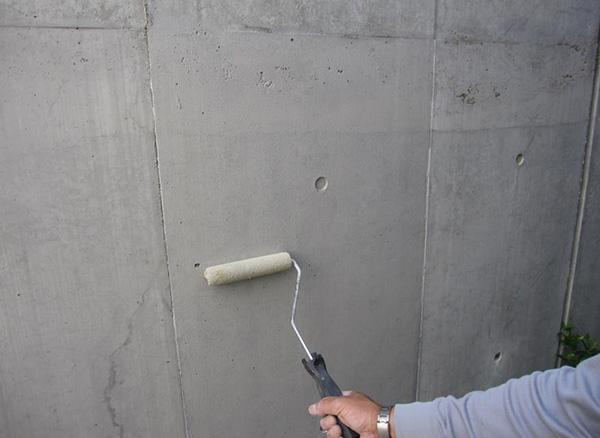 Sクリートカラー塗布