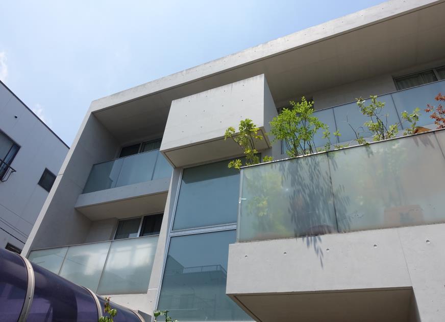 南面 Sクリートカラー艶有タイプ 仕上げ塗り 完了1
