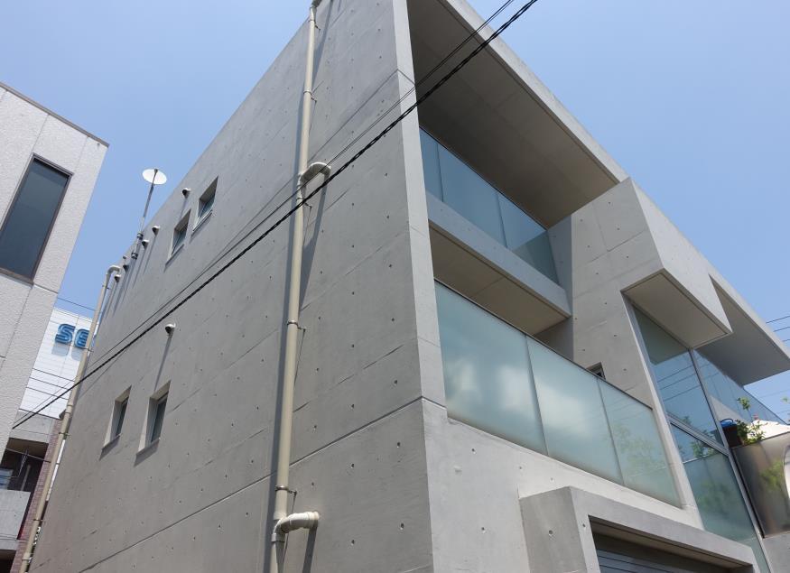 東面 Sクリートカラー艶有タイプ 仕上げ塗り 完了2