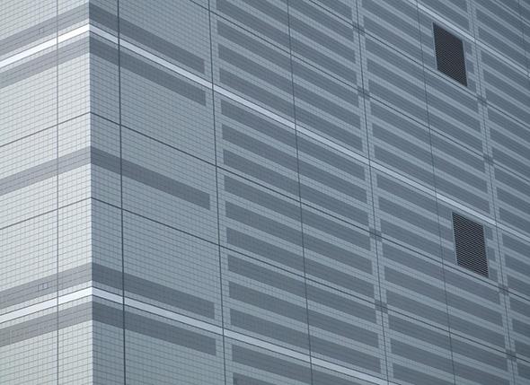 外壁磁器タイル面の目地防水・保護