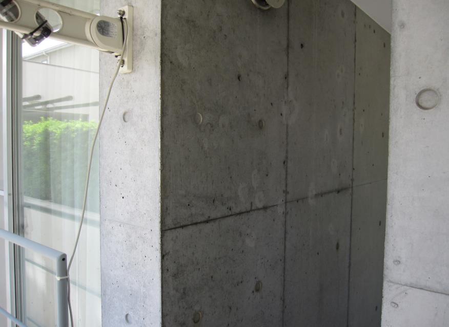 施工前 壁