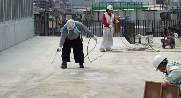 Sクリートキュア施工